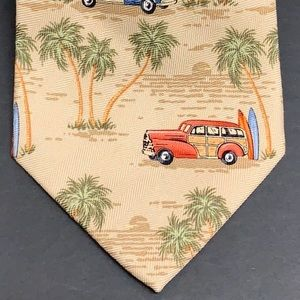 Tommy Bahama Hand Made Silk Tie